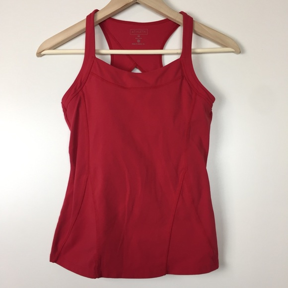 fd07b278748212 Athleta workout tank with bra size XS. M 5c36b4c6de6f629bf39e22d0. Other  Tops ...
